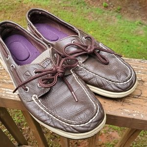Sperry Top Sider Slip On Shoes Sz 7.5